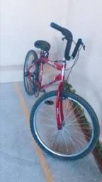Vendo Bicicleta semi nova,  com nota fiscal. usada apenas 2 meses. Valor 300 reais