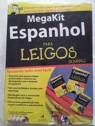 Megakit Espanhol - 3 Livros e 4 CDs - Altabooks