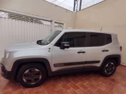 Venda ou transferência junto ao banco Jeep Renegade sport manual prata