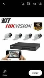 Kit Monitoramento 4 cameras