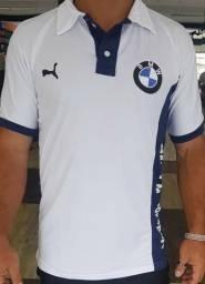 Bmw Branco 2018 - Camisa Polo - 1° Linha