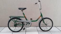 Bicicleta antiga monareta tropical