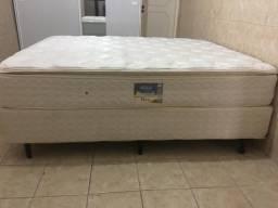 Cama Box Queen Size (Box + Colchão)