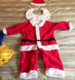 Roupa Importada Infantil Papai Noel Natal criança 58ef9842c7b