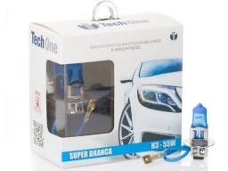 Lâmpada Super Branca Tech One Efeito Xenon 8500k Homolgada Inmetro