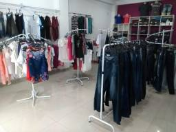 Instalação completa loja de roupas