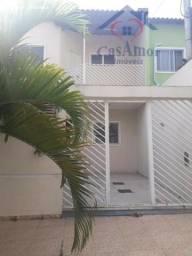 Casa duplex Condomínio Palmeiras em Campo Grande