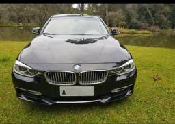 BMW Serie 320i Turbo ano 2013 Aut. placa A 4p 184 hp - 2013