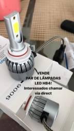 Par lâmpadas LED HB4 novo