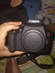 Camera T5 funciona só manual