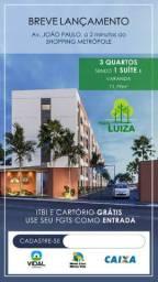 Parque Luiza  apartamento com 3/4 há poucos metros da João Paulo