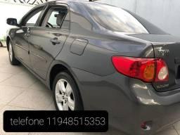 Toyota Corolla 2010 XEI cinza baixo km
