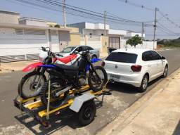 Carretinha de motos