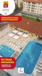 64- Adquira seu apartamento com varanda gourmet a poucos metros da praia