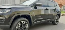 JEEP/COMPASS TRAILHAWK 2.0 DIESEL 4x4 16V AUTOMÁTICA PRETA 2017. WN VEÍCULOS. - 2017