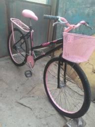 Bicicleta feminina.