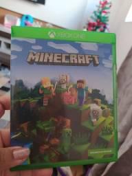 Jogo Xbox Minecraft novo