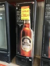 Cervejeira slim 284 litros