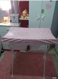 Banheira Com Trocador Tutti Baby - Rosa