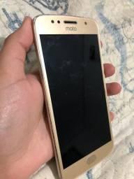 Moto g5s Gold