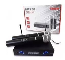 Microfone sem fio Wireless