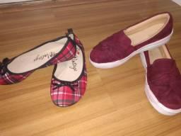 Calçados feminino número 34 alguns novos