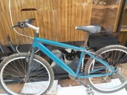 Bicicleta quadro aluminio aro 26 pecas shimano otimo eatado