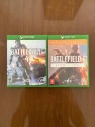 Battlefield 4 e 1 por R$50 os dois