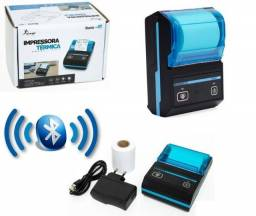R$ 299 Mini Impressora Portatil Bluetooth Termica Kp-1020 Knup/ifood