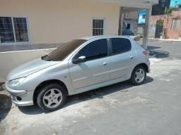 Peugeot 1.4 206 2007 top de linha
