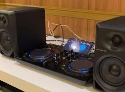 Pionner Wego 4 DJ - mixer e duas caixas de som