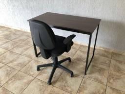 Conjunto para Home Office mesa + cadeira Flexform