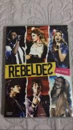 DVD ao vivo rebeldes