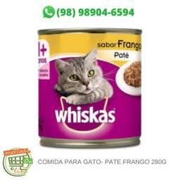 Comida para gato- Pate frango 280g