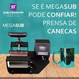 Prensa Canecas - MegaSub Sublimação