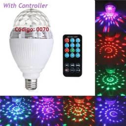 COD: 0070 Lâmpada Led Music Bulb Bluetooth Rgb giratoria (Entrega gratis)