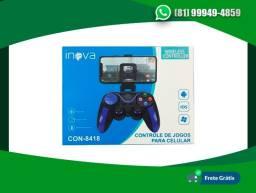 Controle Celular Bluetooth Inova Con-8418 Andoid, Ios e PC