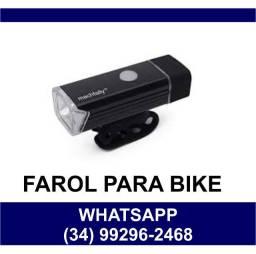 Entrega Grátis * Farol Led para Bike Bicicleta Ciclista MachFally