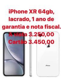 IPhone XR 64gb Lacrado - Branco
