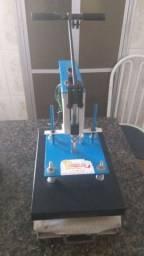 Kit, máquina de estampar camisetas e máquina de estampar canecas