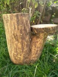 Tronco floreira / mesinha tronco