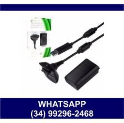Entrega Grátis * Carregador + Bateria para Controle Xbox 360 / One