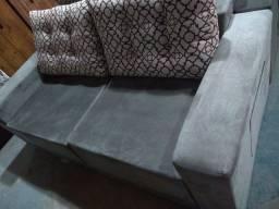 Sofa retrátil não reclinável, promoção peça de mostruário de 999,99 por 699,99