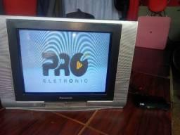 TV+conversor+antena