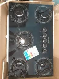 Fogão cooktop Itatiaia 5 bocas novo