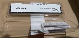 Memória HyperX Fury, 8GB, 1866MHz, DDR3, CL10, Branco - HX318C10FW/8<br><br>