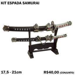 Título do anúncio: Kit Espada Samurai