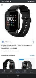 Smartwatch haylou lá 02 novíssimo