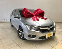 Honda - City Só 15mil km C/ Bancos de Couro, Câmbio Automático Impecável ! 2019