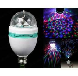 Lâmpada giratória / bola maluca / jogo de luz / Led